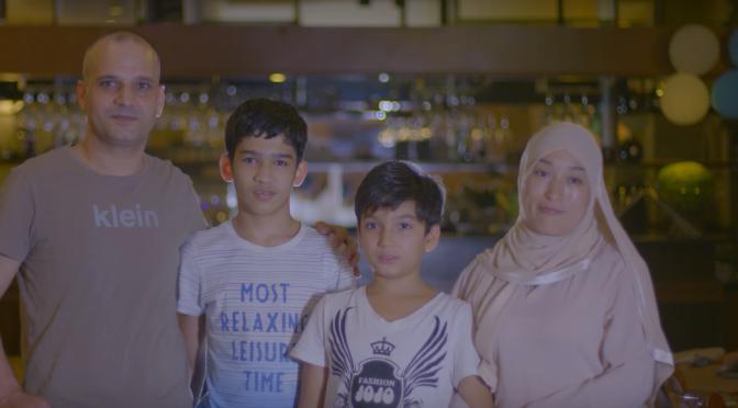 Marking the end of Ramadan in China